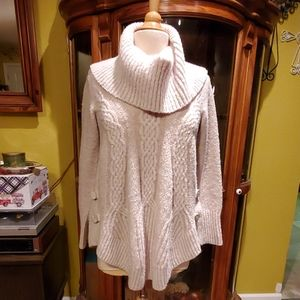 ANTHROPOLOGIE ANGEL OF THE NORTH SWEATER M